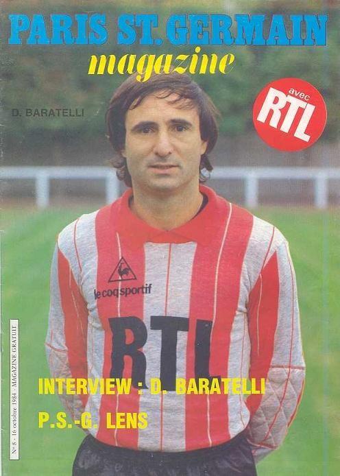 1984-10-16  PSG-Lens (12ème D1, Paris SG Magazine N°8)