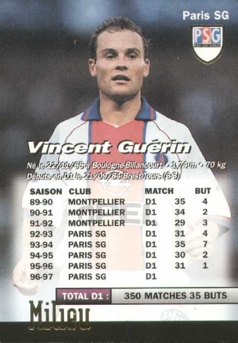 N° 177 - Vincent GUERIN (Verso)