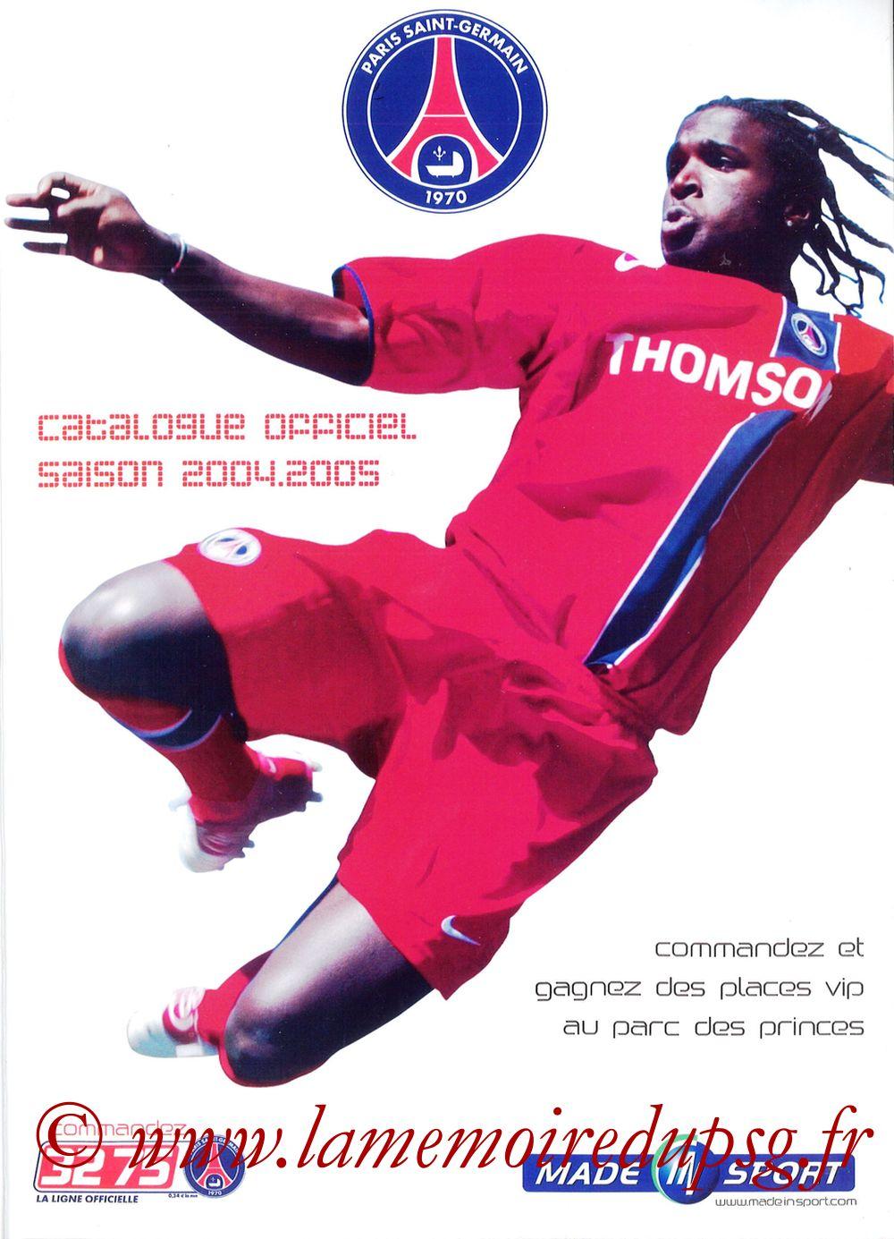 Catalogue PSG - 2004-05b