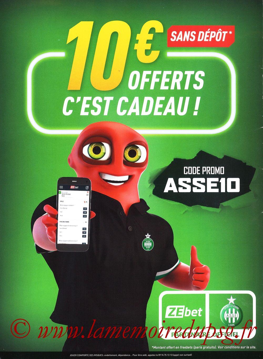 2019-12-15  Saint-Etienne (18ème L1, Maillot Vert N°31) - Page 28