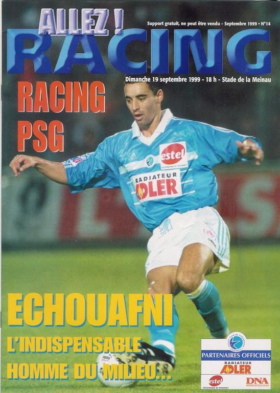 1999-09-19  Strasbourg-PSG (7ème D1, Allez Racing N°14)
