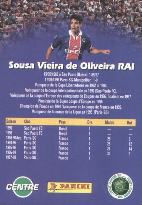 N° 132 - Souza de Oliveira RAI (Verso)
