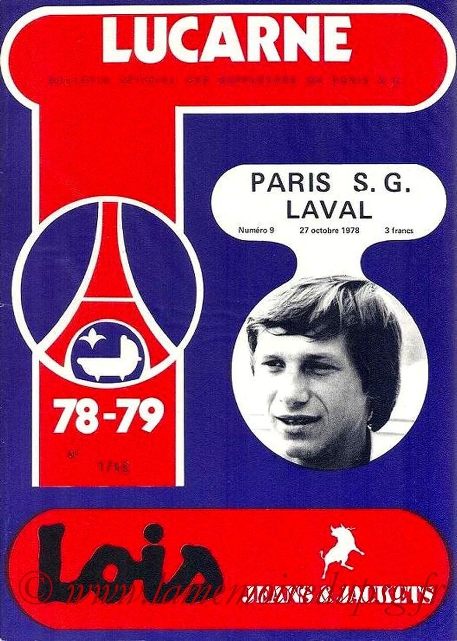 1978-10-27  PSG-Laval (17ème D1, Lucarne N°9)