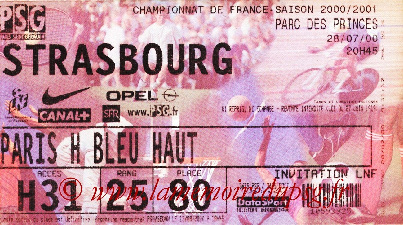 2000-07-28  PSG-Strasbourg (1ère D1)