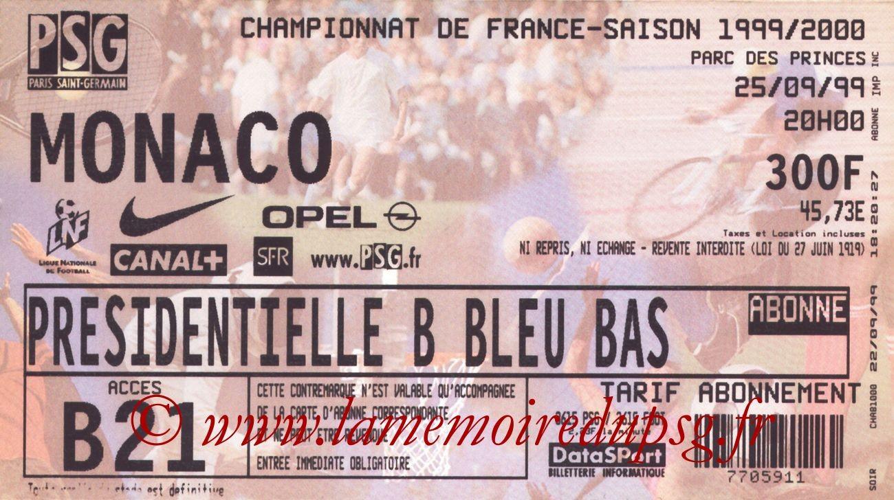 1999-09-25  PSG-Monaco (8ème D1)