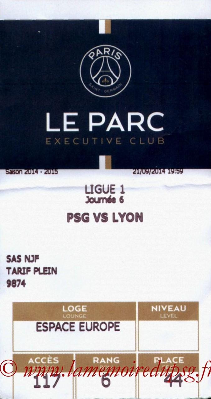 2014-09-21  PSG-Lyon (6ème L1, E-Ticket)
