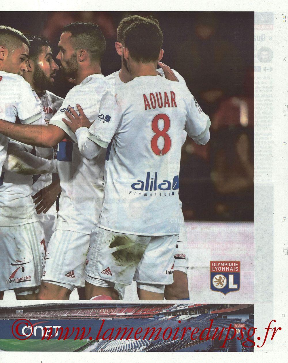 2018-01-21  Lyon-PSG (22ème L1, La Tribune OL N° 244) - Page 11