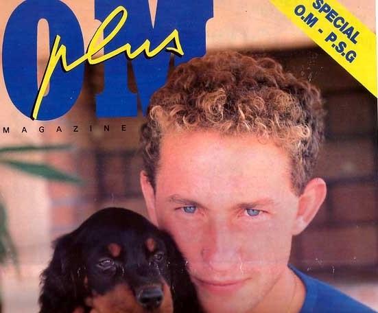 1989-10-28  Marseille-PSG (16ème D1, supplément OM Plus)