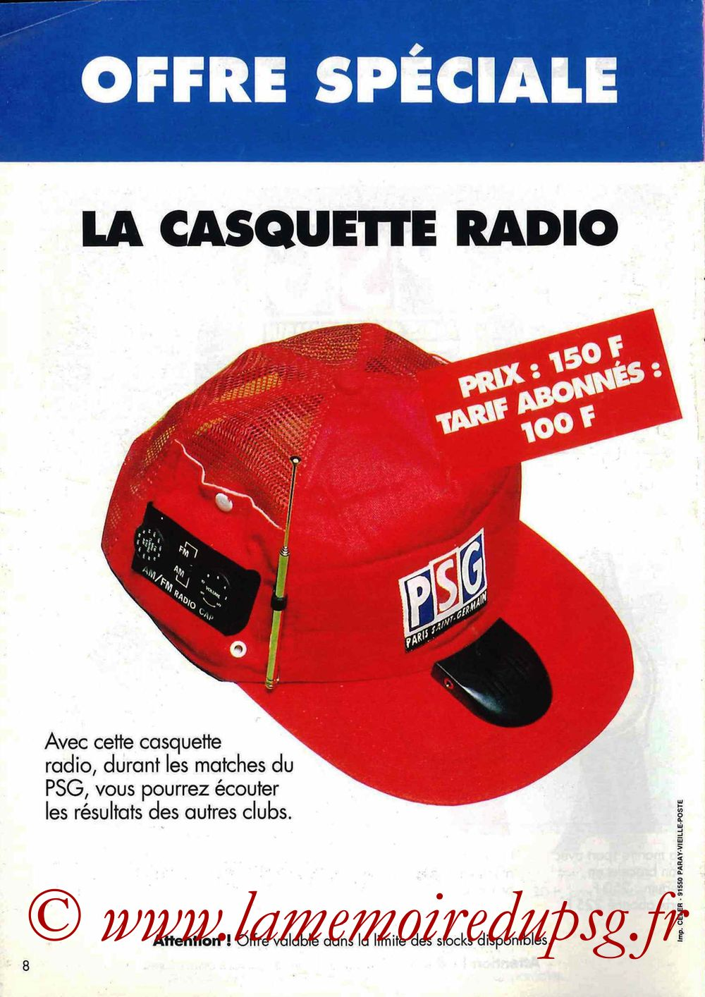 Catalogue PSG - 1992-93 - Page 8
