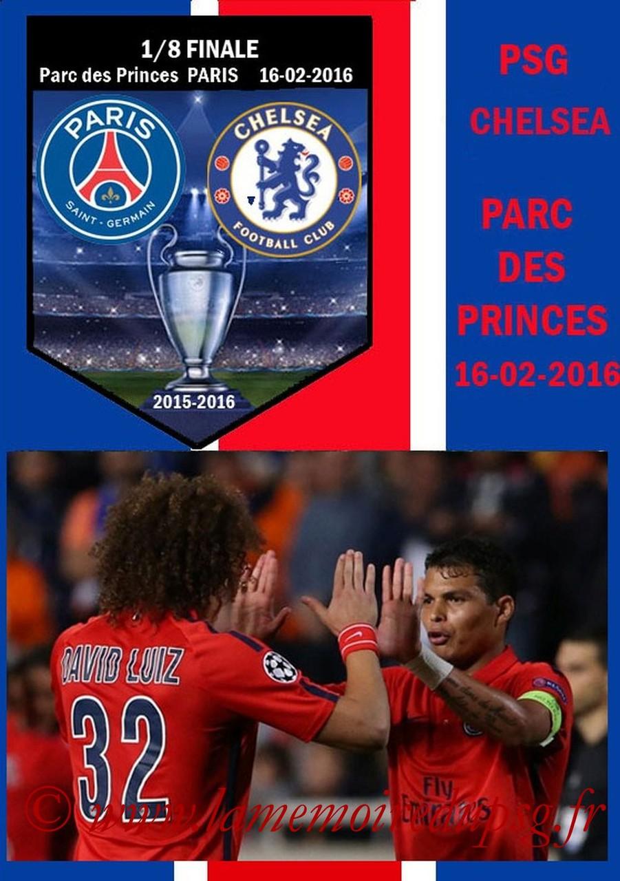2016-02-16  PSG-Chelsea (8ème C1 Aller, Programme pirate)