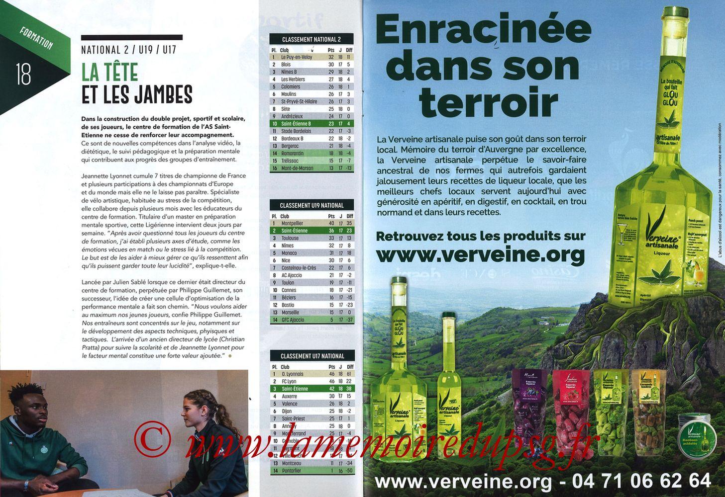 2019-02-17  Saint Etienne-PSG (25ème L1, Maillot Vert N° 13) - Pages 18 et 19