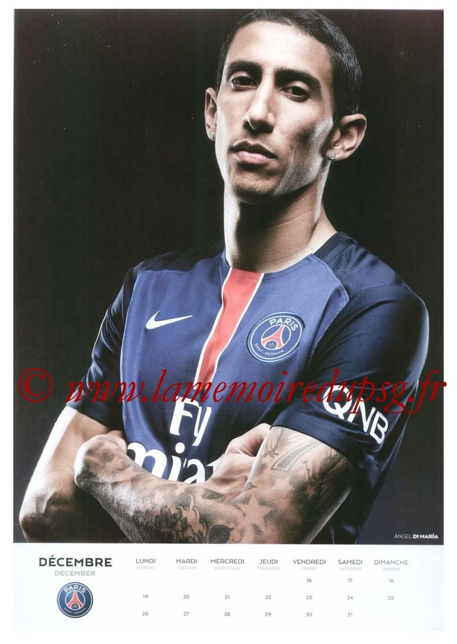 Calendrier PSG 2016 - Page 24 - Angel DI MARIA