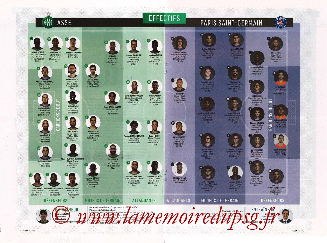 2018-04-06  Saint Etienne-PSG (32ème L1, ASSE Actus) - Page 06 et 07