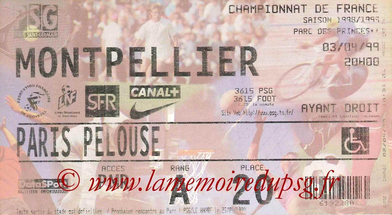 1999-04-03  PSG-Montpellier (28ème D1)