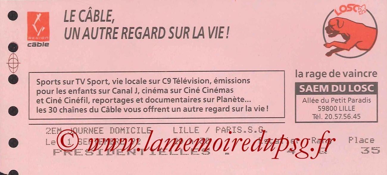 1992-09-01  Lille-PSG (5ème D1)