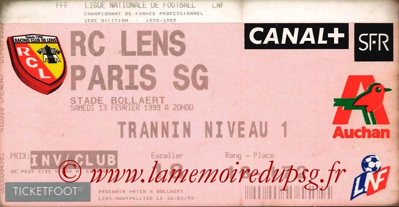 1999-02-13  Lens-PSG (24ème D1)bis