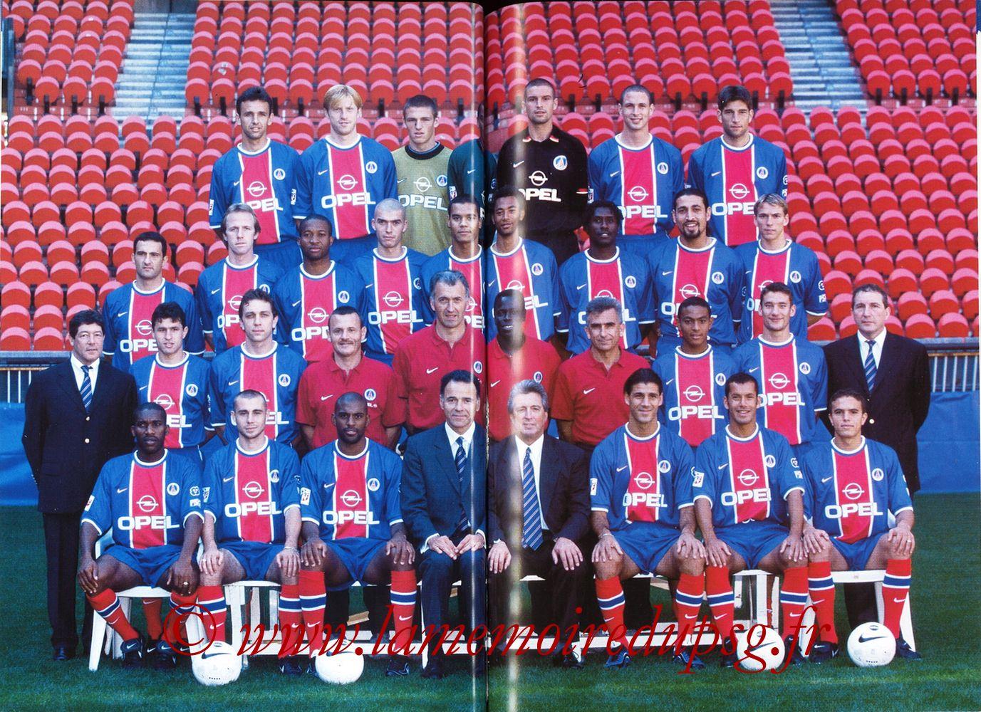 1999-00 - Guide de la Saison PSG - Pages 34 et 35