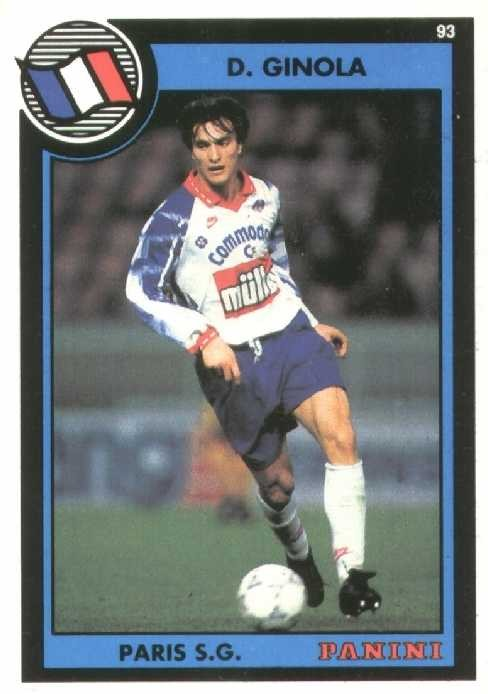N° 267 - David GINOLA (Recto)