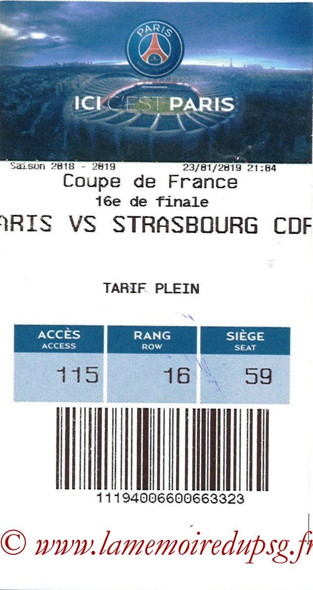 2019-01-23  PSG-Strasbourg (16ème CF, E-ticket)