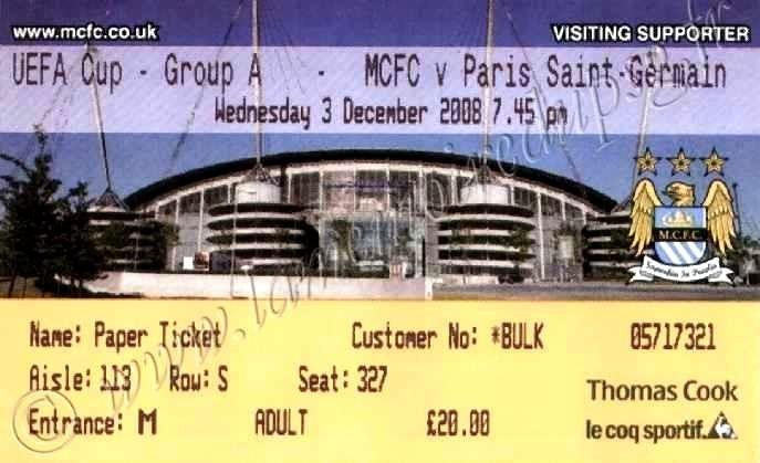 2008-12-03  Manchester City-PSG (4ème journée Poule UEFA)