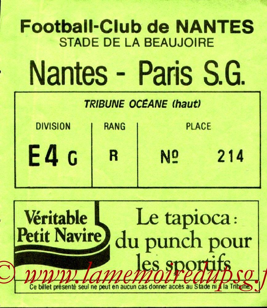 1988-04-16  Nantes-PSG (32ème D1)