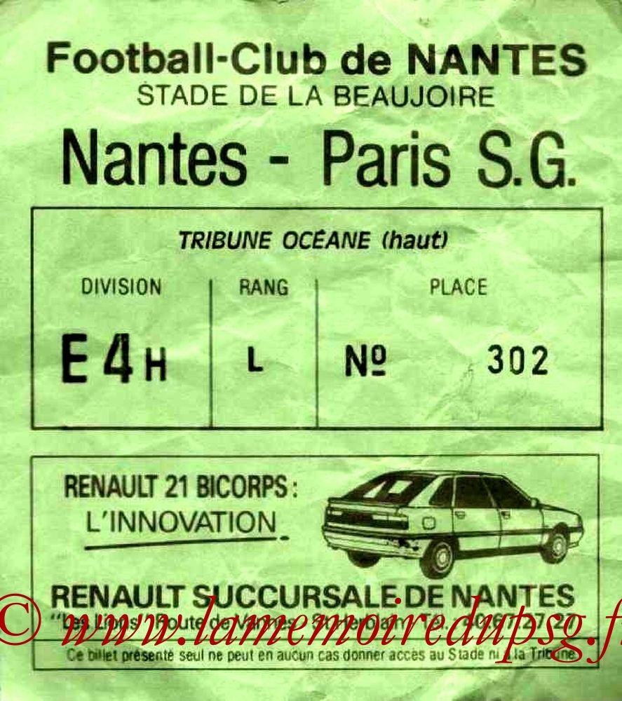 1986-09-20  Nantes-PSG (10ème D1)