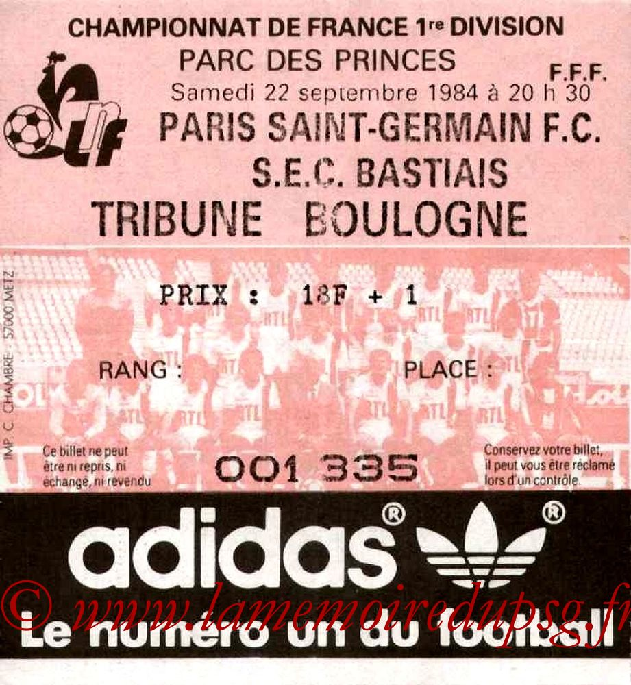 1984-09-22  PSG-Bastia (8ème D1)
