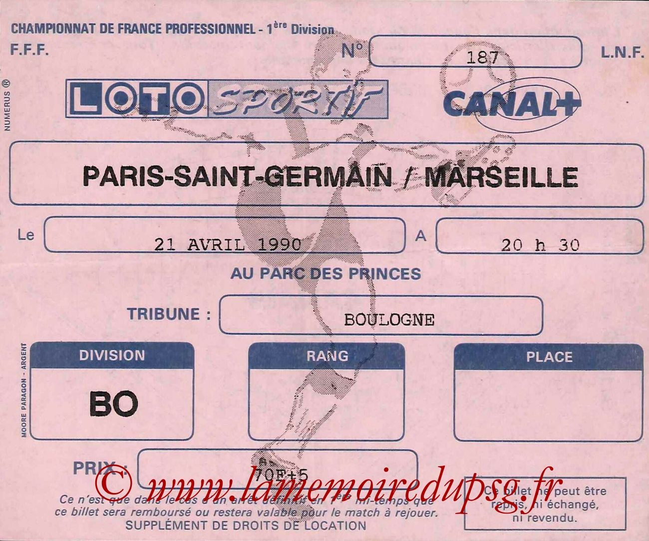 1990-04-21  PSG-Marseille (34ème D1)