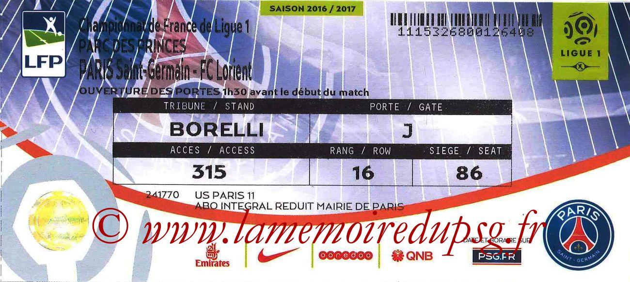 2016-12-21  PSG-Lorient (19ème L1, bis)