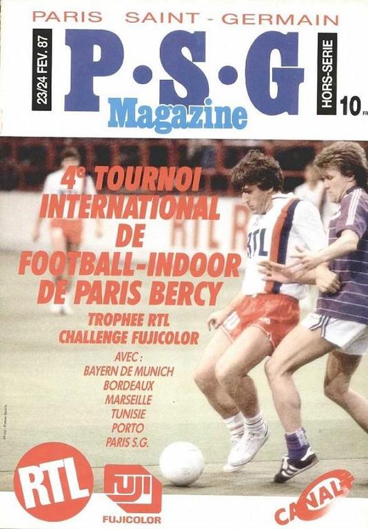 1987-02-28  4ème Tournoi Indoor de Bercy (PSG Magazine HS)