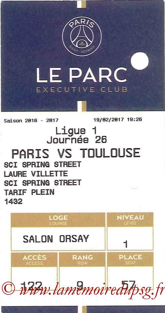 2017-02-19  PSG-Toulouse (26ème L1, E-ticket Executive club)