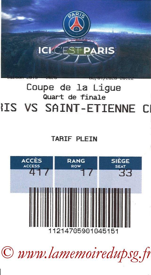 2020-01-08  PSG-Saint Etienne (Quart CL, E-ticket)