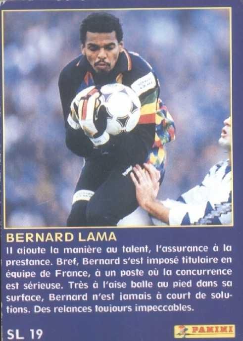 N° SL19 - Bernard LAMA (Verso)