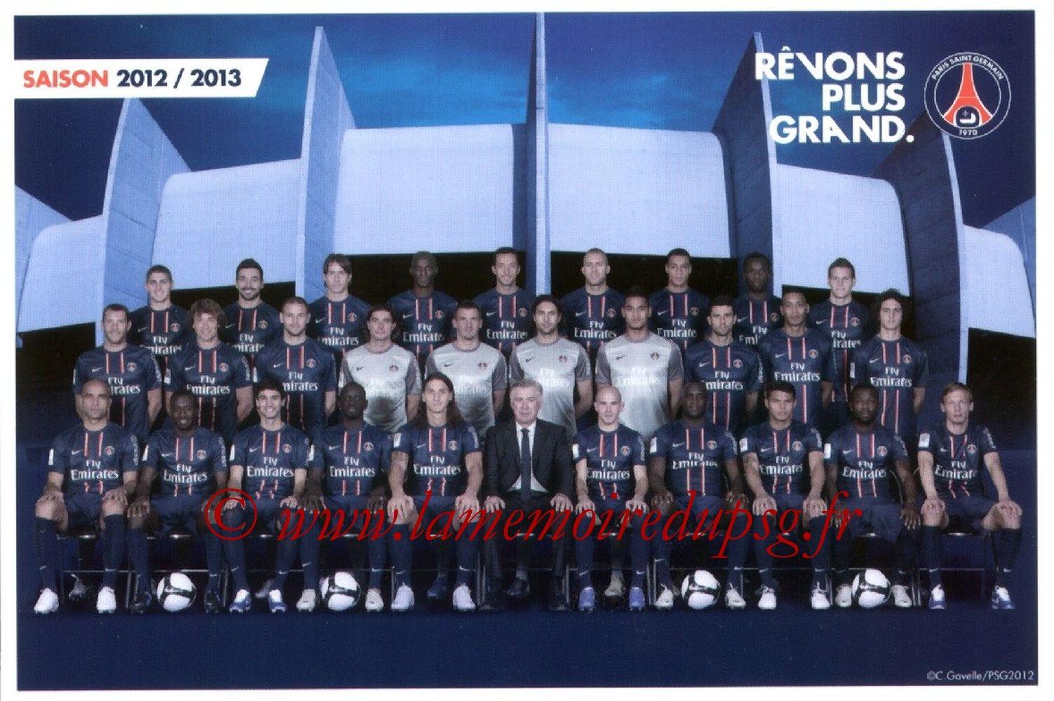Equipe PSG  12-13