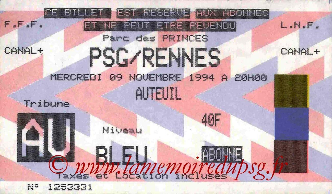 1994-11-09  PSG-Rennes (17ème D1)