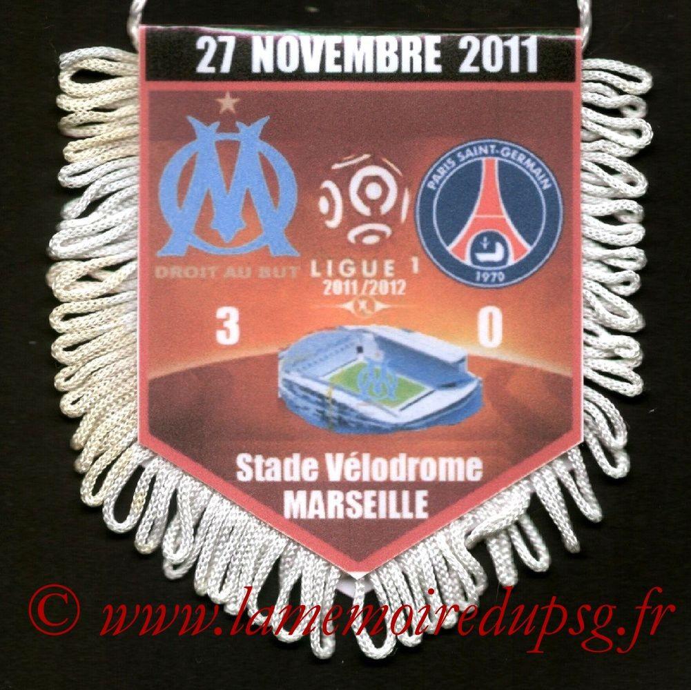 2011-11-27  Marseille-PSG (15ème L1)