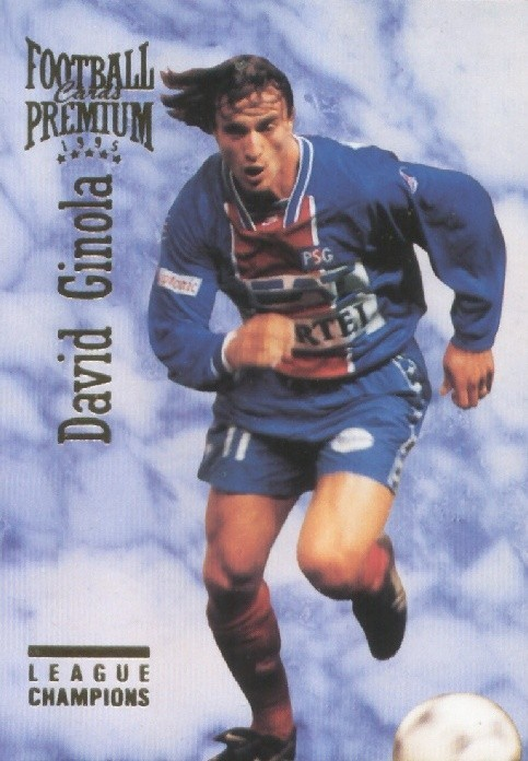 N° 095 - David GINOLA (Recto)