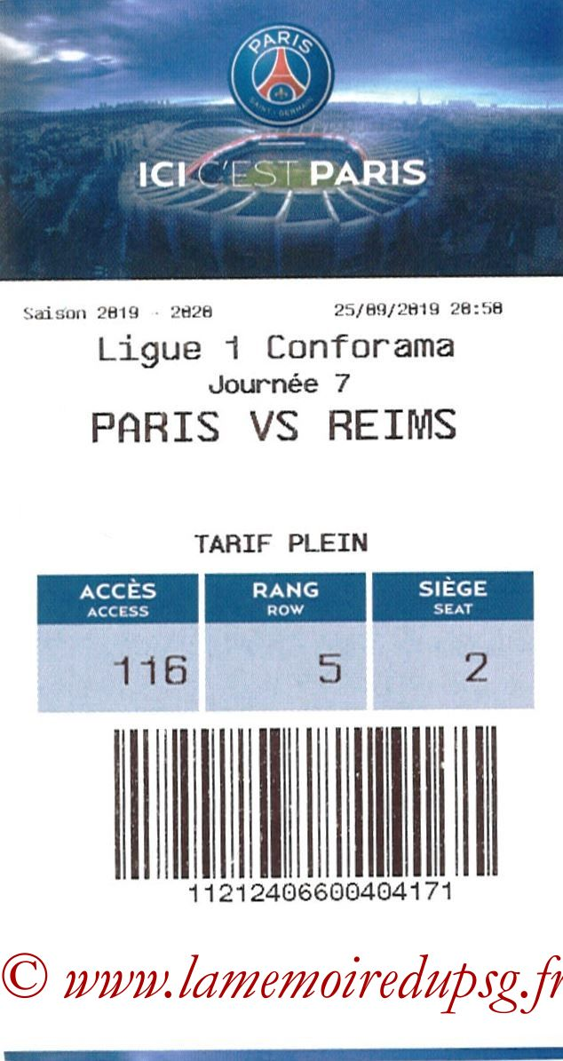 2019-09-25  PSG-Reims (7ème L1, E-ticket)