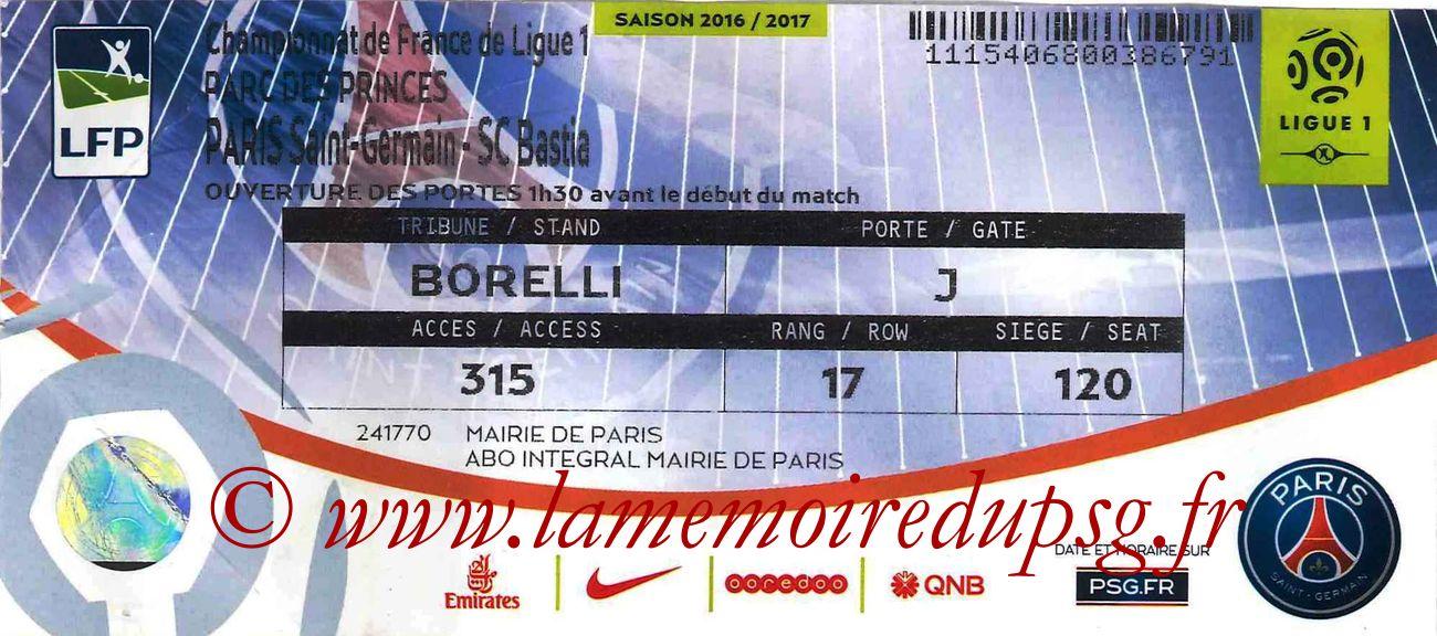 2017-05-06  PSG-Bastia (36ème L1)