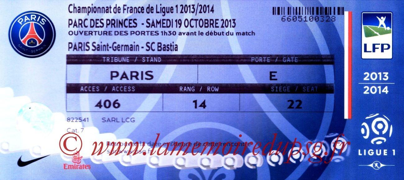 2013-10-19  PSG-Bastia (10ème L1)