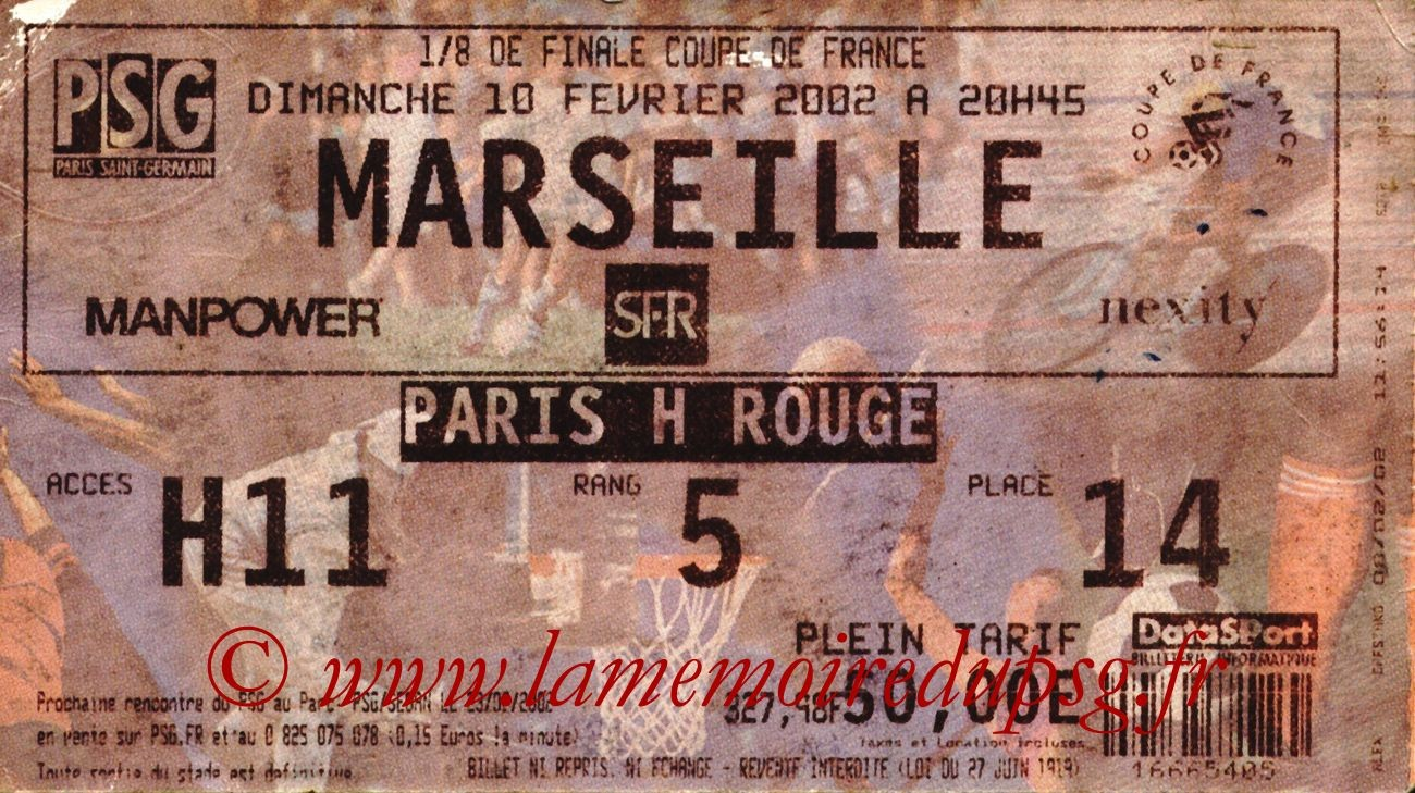 2002-02-10  PSG-Marseille (8ème Finale CF)