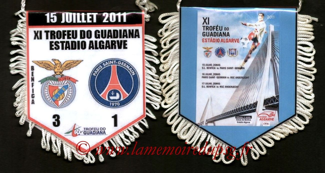 2011-07-15  Benfica-PSG (Amical)