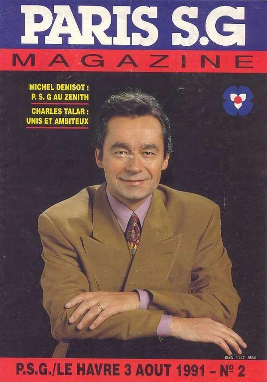 1991-08-03  PSG-Le Havre (4ème D1, Paris SG Magazine N°2)