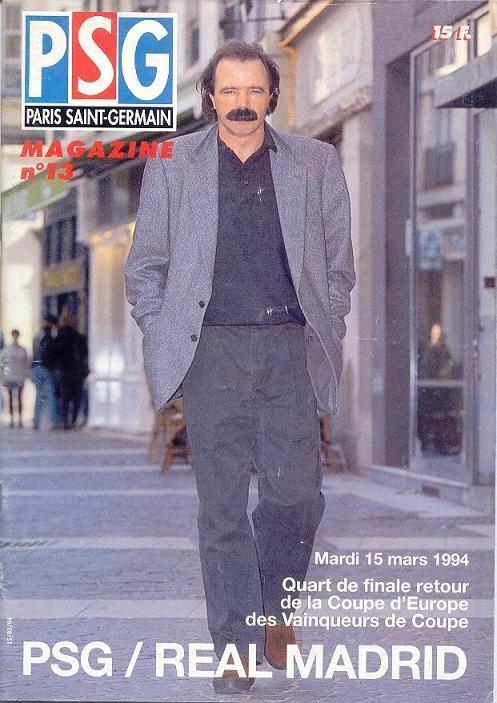1994-03-15  PSG-Real Madrid (Quart Finale Retour C2, PSG Magazine N°13)