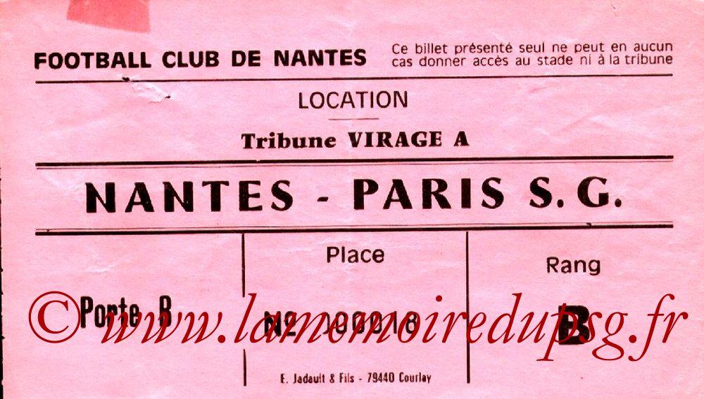1983-01-29  Nantes-PSG (23ème D1, Sans Nom)
