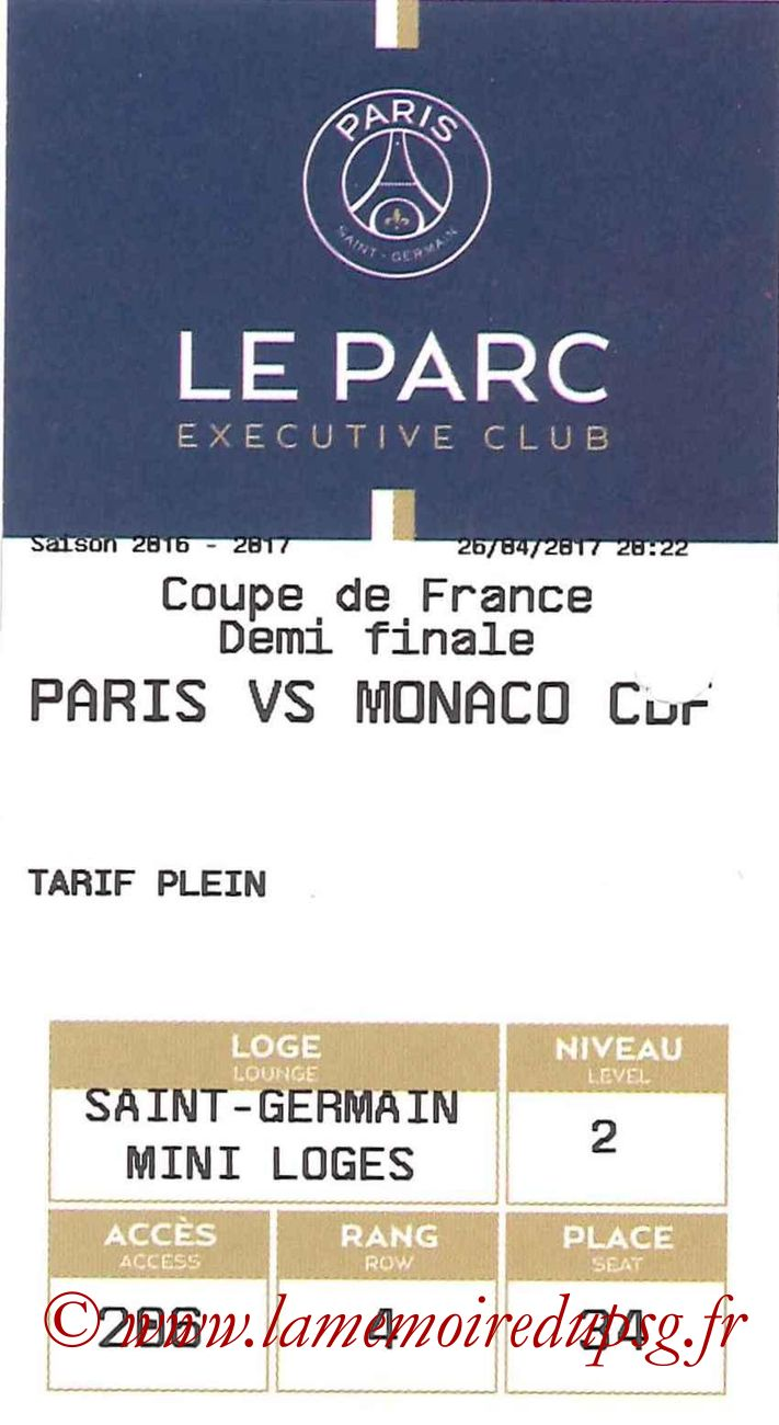 2017-04-26  PSG-Monaco (Demi-finale CF, E-ticket Executive club)