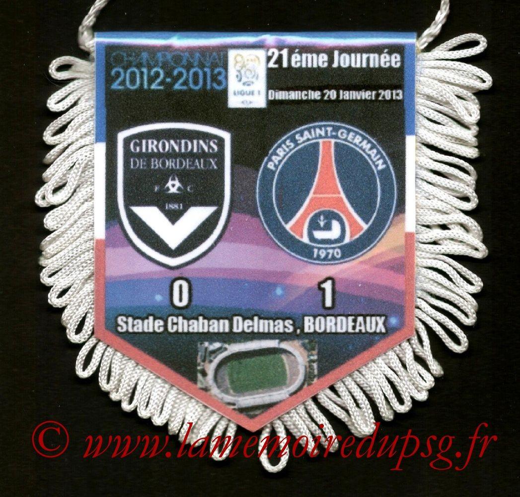 2013-01-20  Bordeaux-PSG (21ème L1)