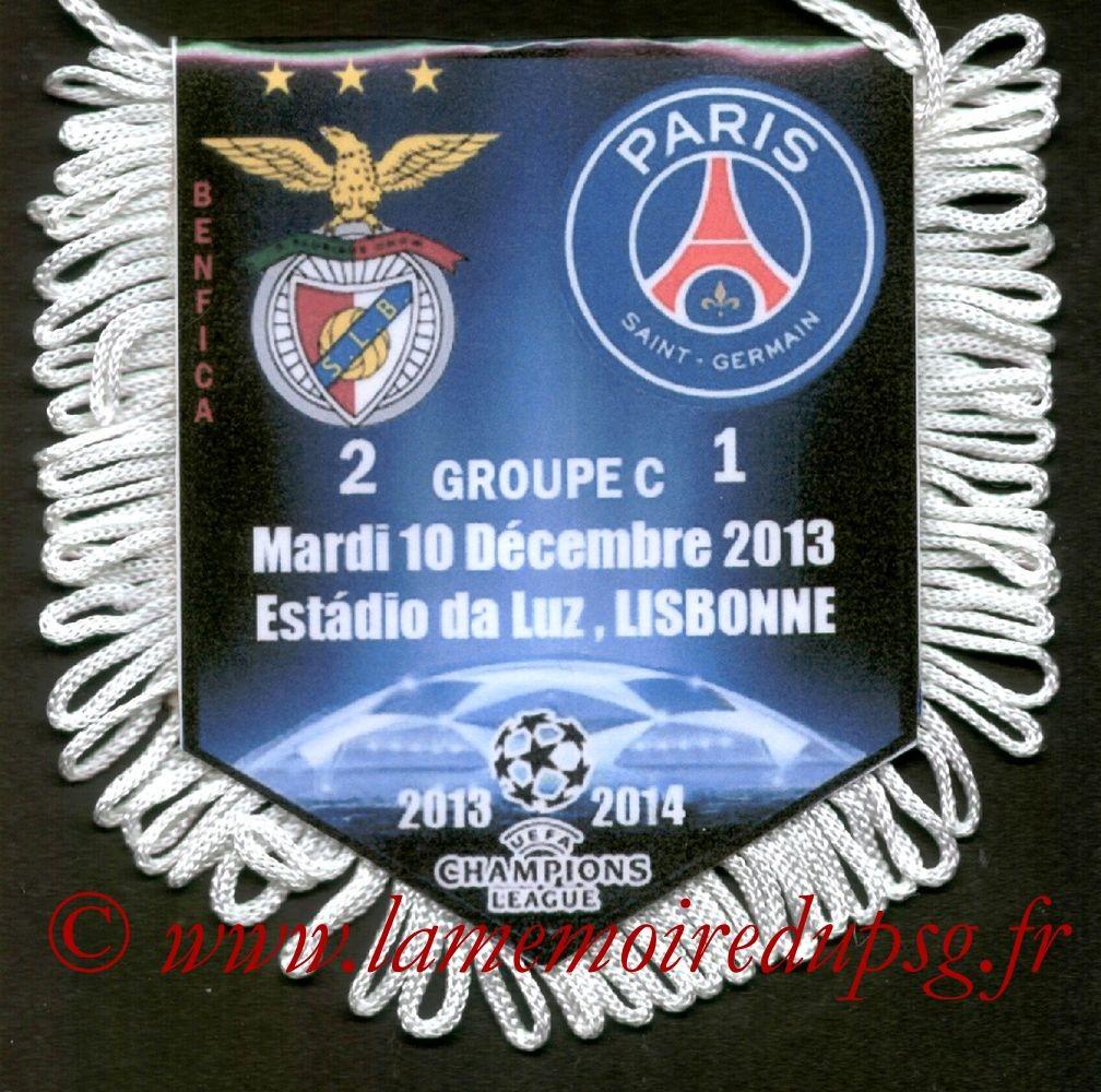 2013-12-10  Benfica-PSG (6ème C1)