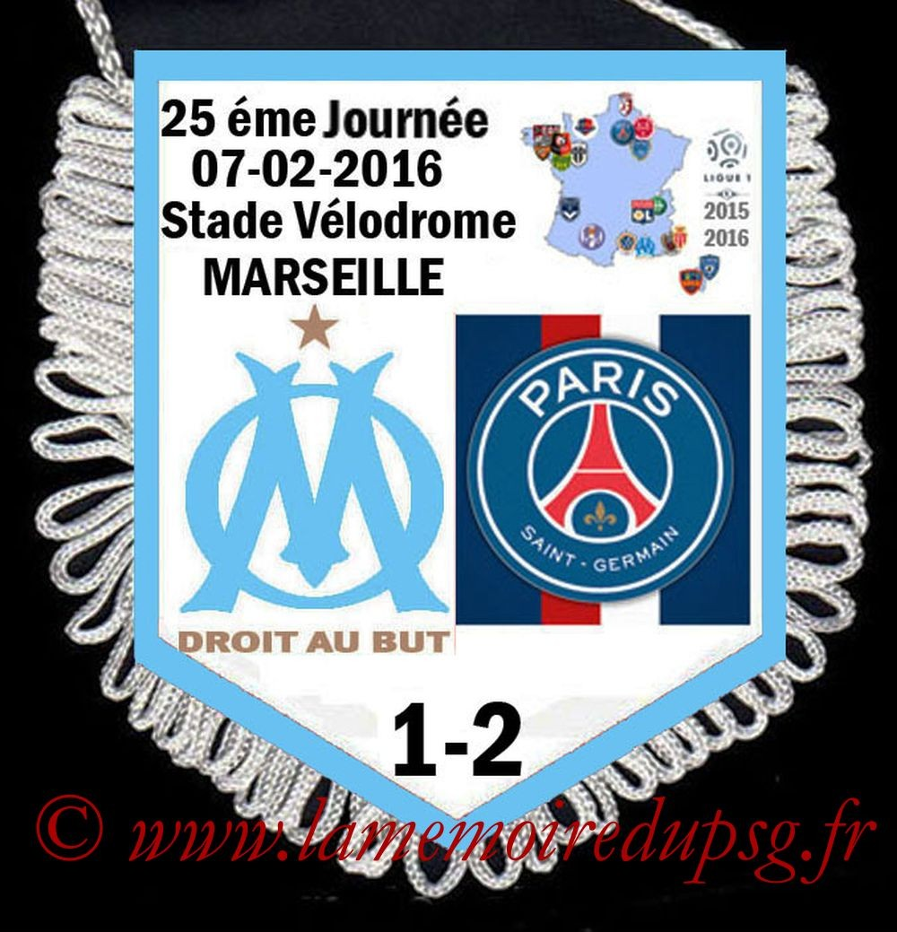 2016-02-07  Marseille-PSG (25ème L1)