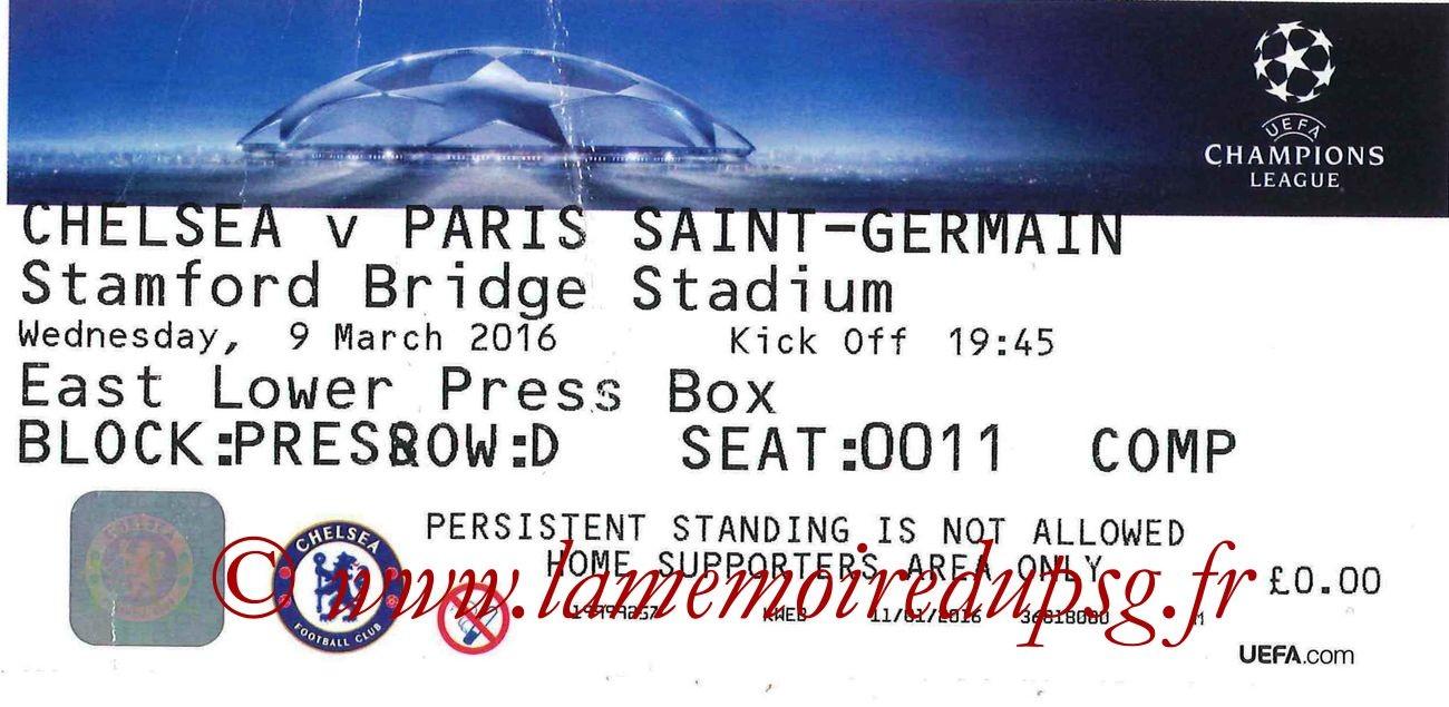 2016-03-09  Chelsea-PSG (8ème Retour C1 bis)